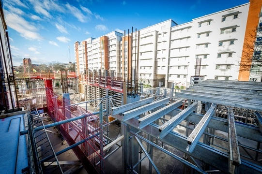 £42 million art, architecture and design faculty at De Montfort University Leicester