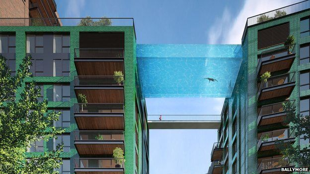 sky pool to be built in london