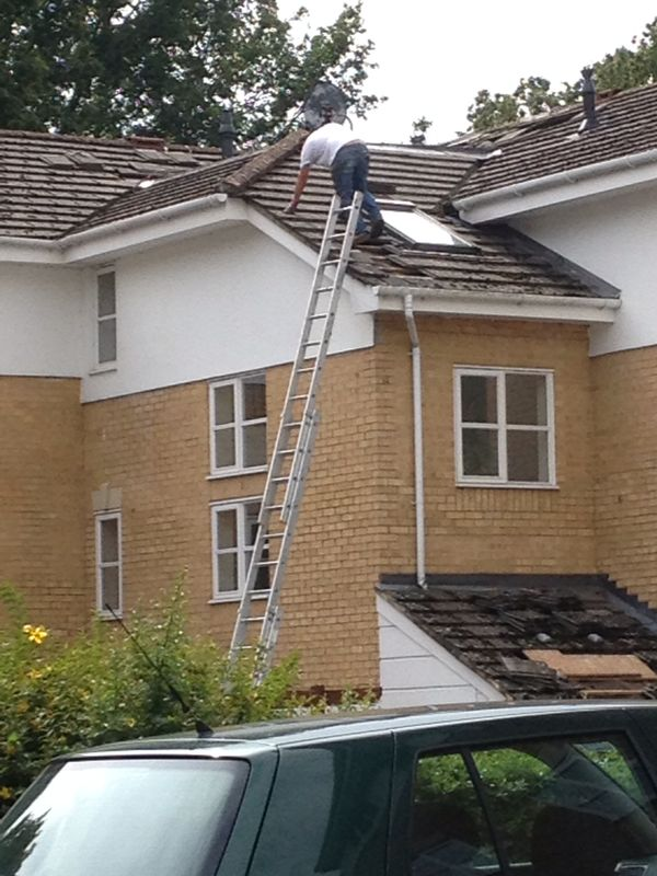 Roofer fined