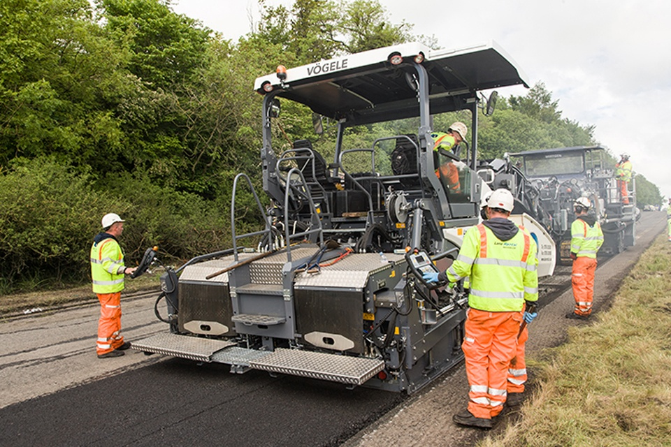 New resurfacing technology