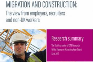 Uk construction relies on migration