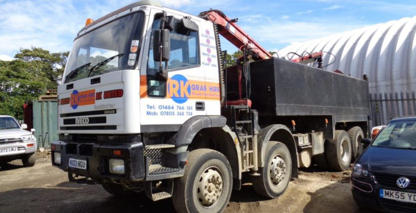 Garb hire lorry involved in accident