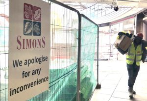 Simons goes into administration