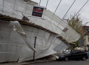 Scaffold collapse in Maidenhead