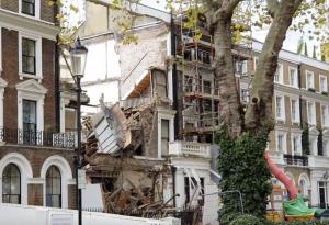 Chelsea mega mansion collapsed