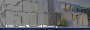 ABC 10 year structural warranty